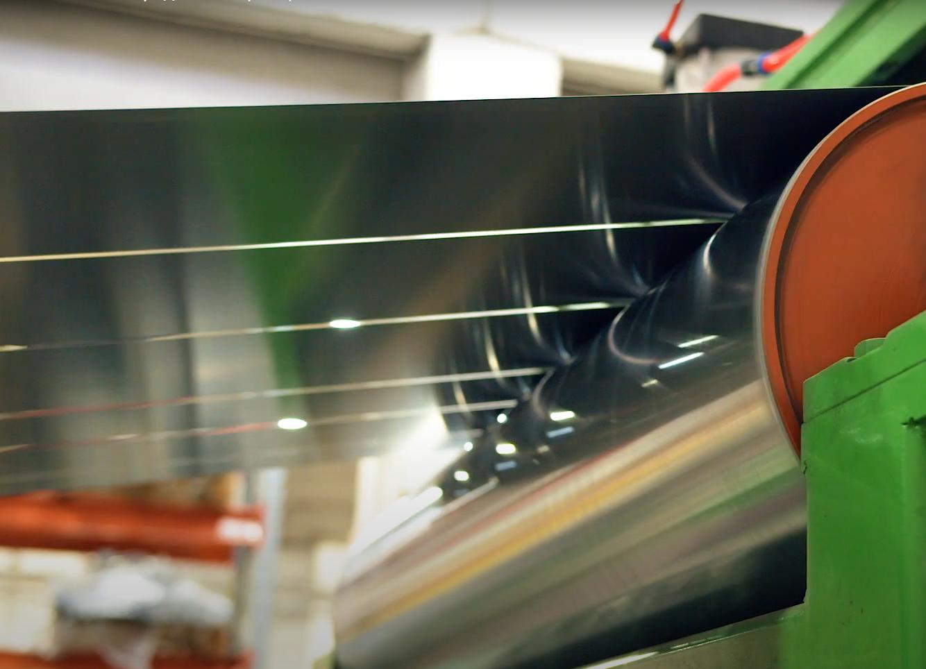 Новое оборудование: Продольный раскрой стали