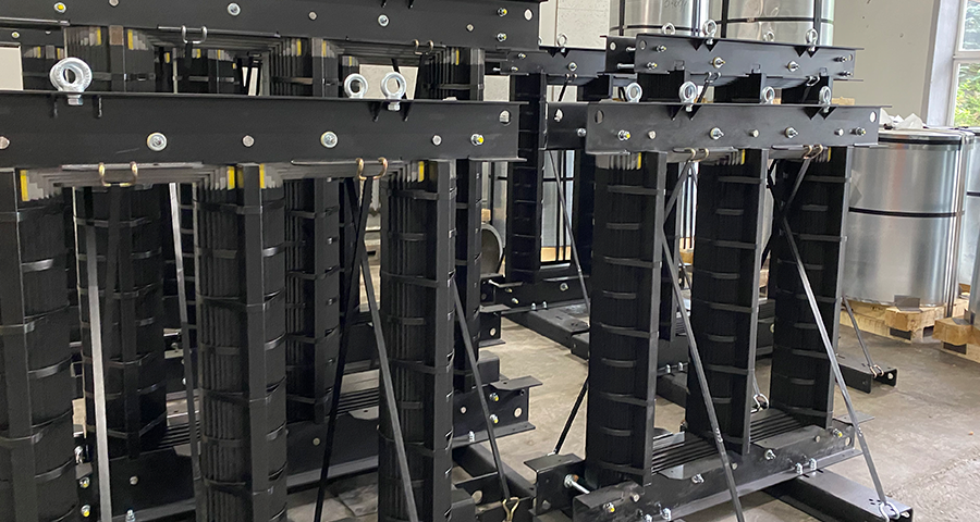 Готовые магнитопроводы мощностью 630кВА, 1600кВа и 2500кВА