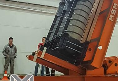 Unique 4000kVA magnetic cores